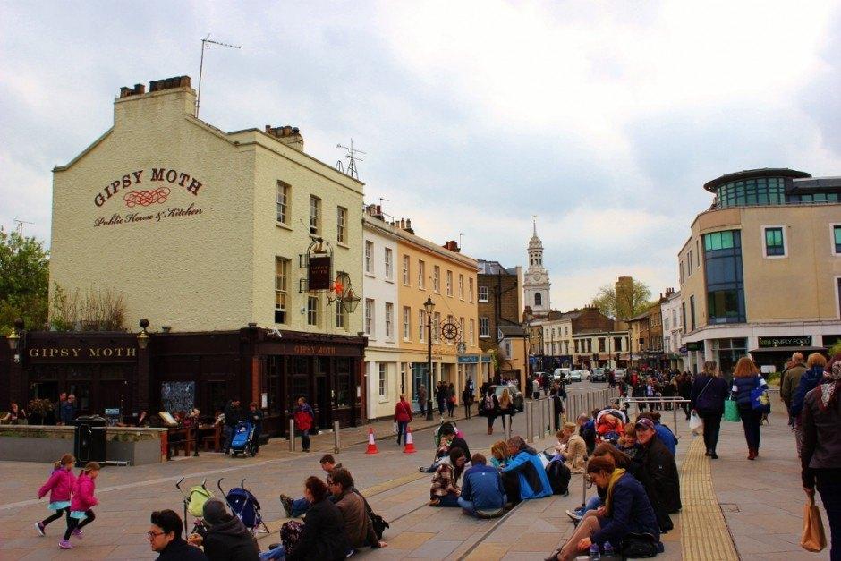 With one day in Greenwich, London walk around the neighborhood