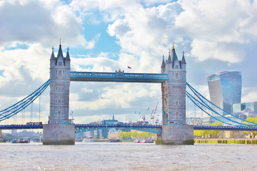 No better way to spend a Sunday in London than on a boat ride down the River Thames.