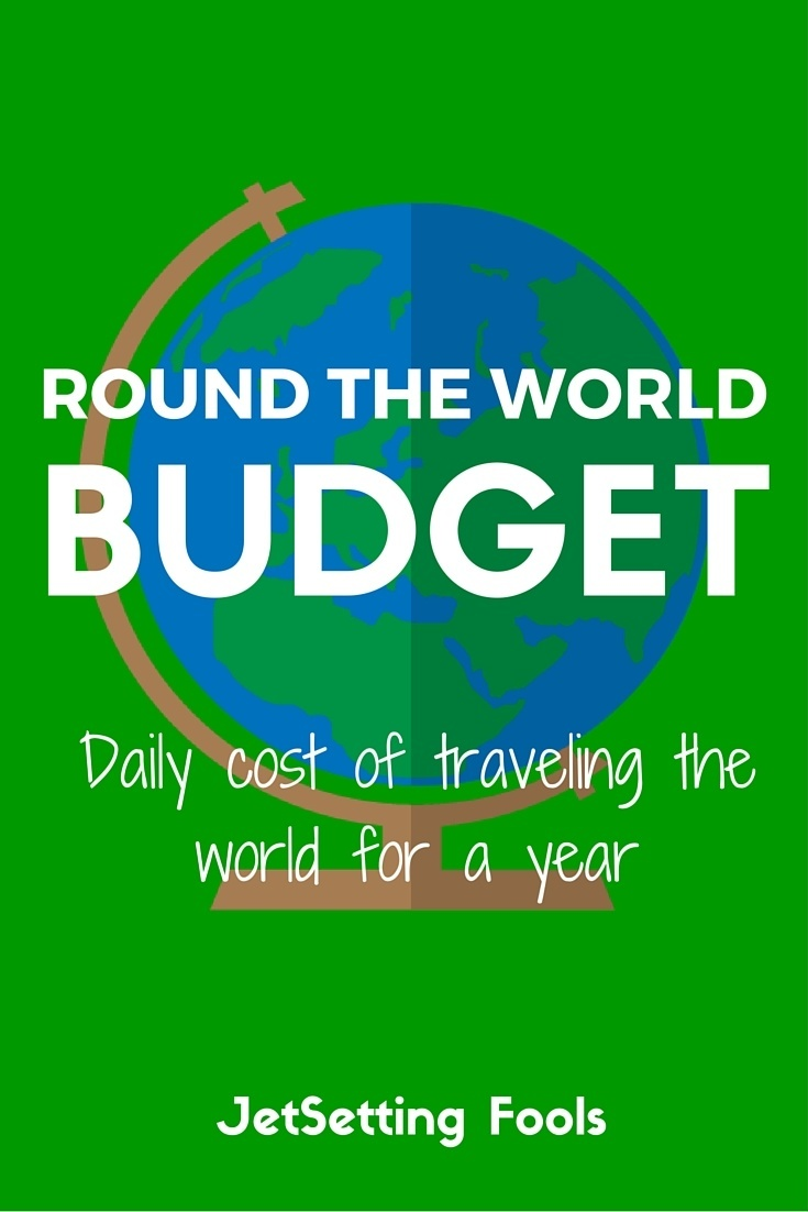 Round the world budget daily cost for a year of travel for Year long cruise around the world cost