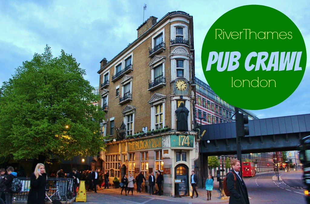 River Thames Pub Crawl London JetSettingFools.com