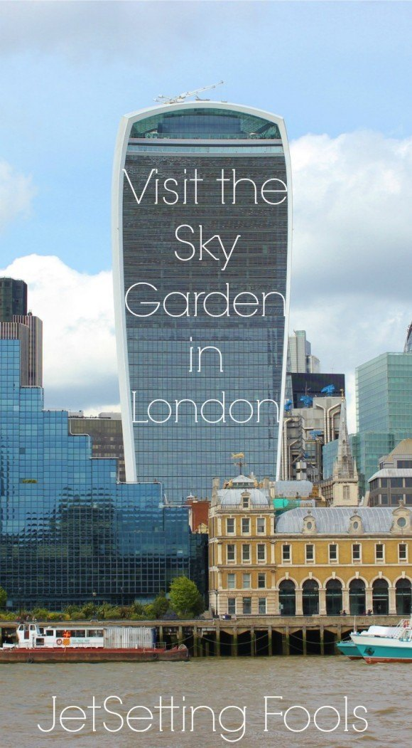 Visiting the Sky Garden in London