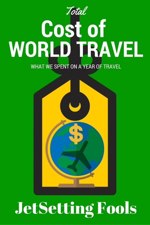 Total Cost of World Travel JetSetting Fools
