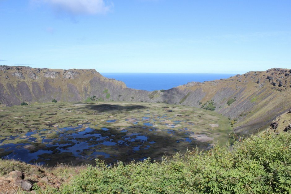 Best Hikes of our Journey: Rano Kao crater on Easter Island