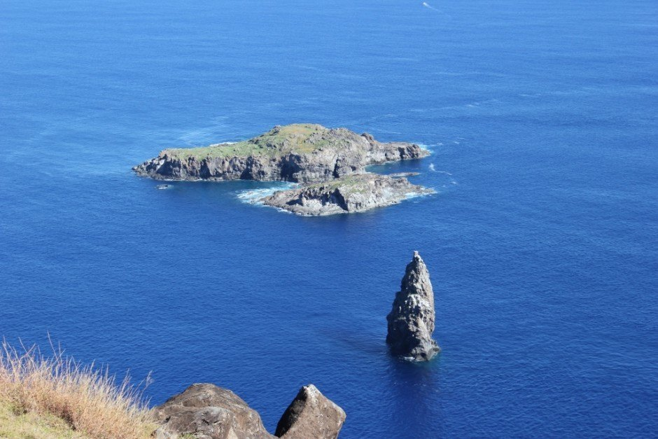 Best Hikes of our Journey: View from Orongo on Easter Island