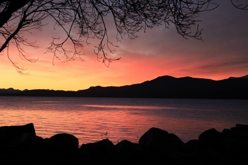 Best Sunsets of our Journey: Bariloche, Argentina