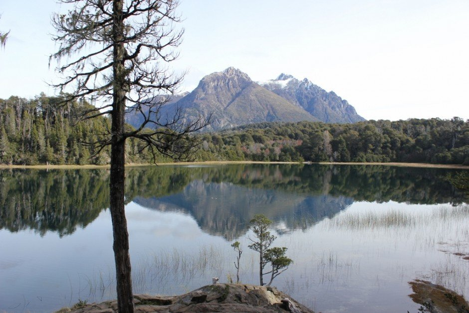 Best Hikes of our Journey: Lake reflections at Parque Municiple Llao Llao – Bariloche, Argentina