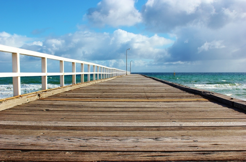 Seaford, Australia: The pier
