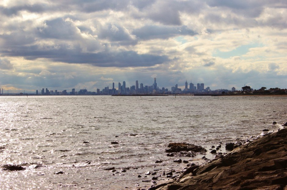 The Melbourne skyline from Green Point.