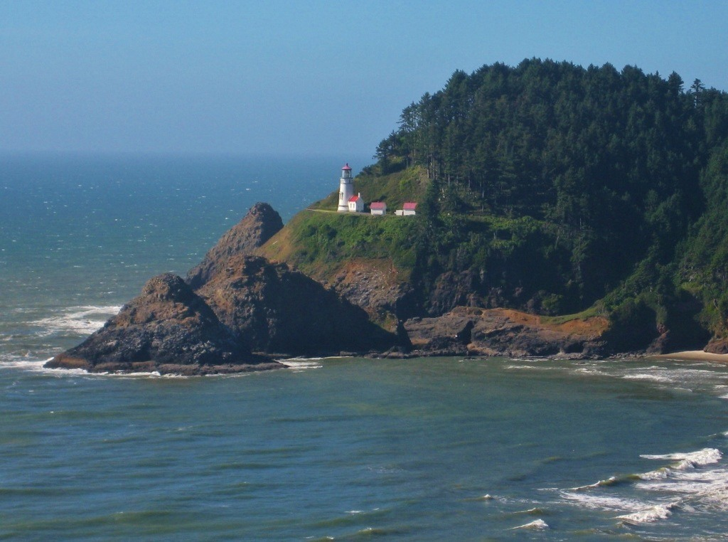 Visiting Kris's parents in Florence near the Heceta Lighthouse