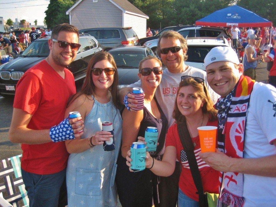 Friends, Futbol and Bar-hopping in Boston: Tailgating with The American Outlaws