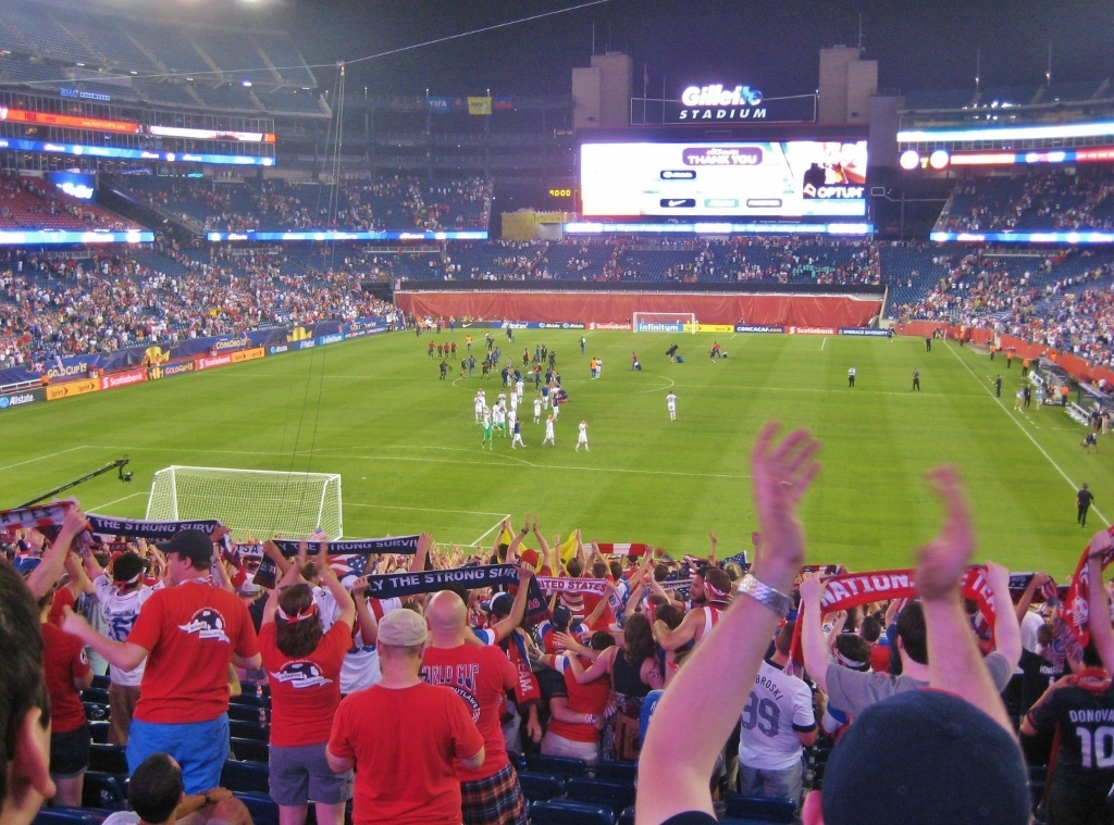 Friends, Futbol and Bar-hopping in Boston: US Men's Soccer vs Haiti at Gillette Stadium