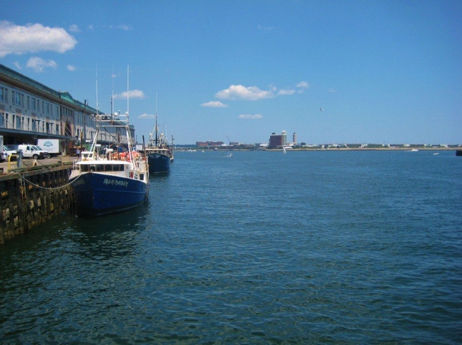 Friends, Futbol and Bar-hopping in Boston: Boston Harbor from Seaport District