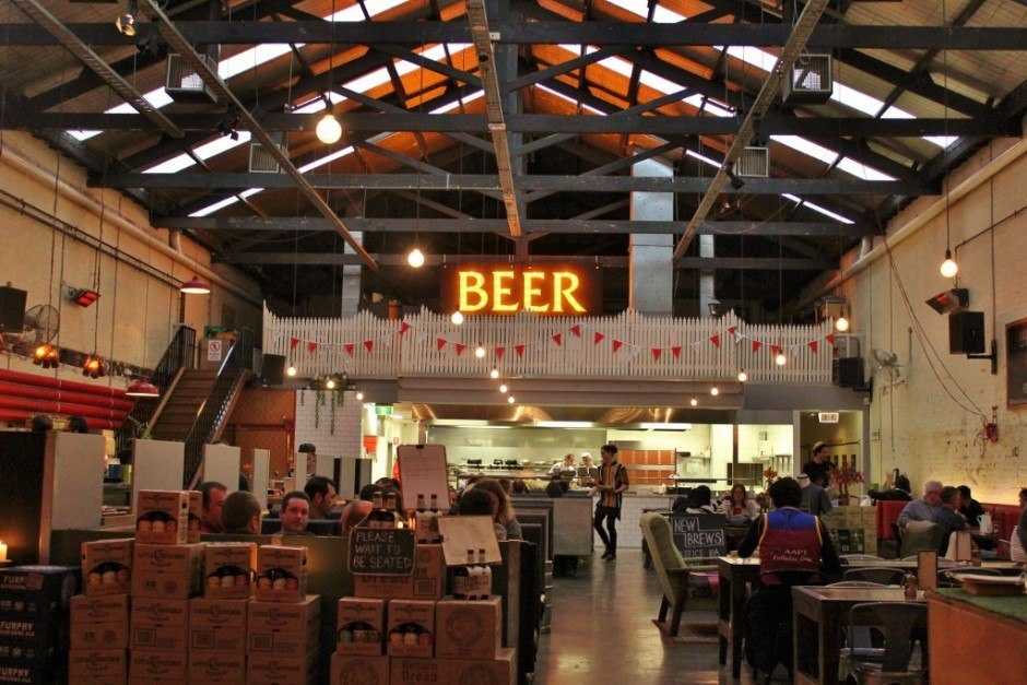 As far as Fitzroy pubs go, Little Creatures Dining Hall is one of our favorites - not only is it a great space, but we LOVE their beer!