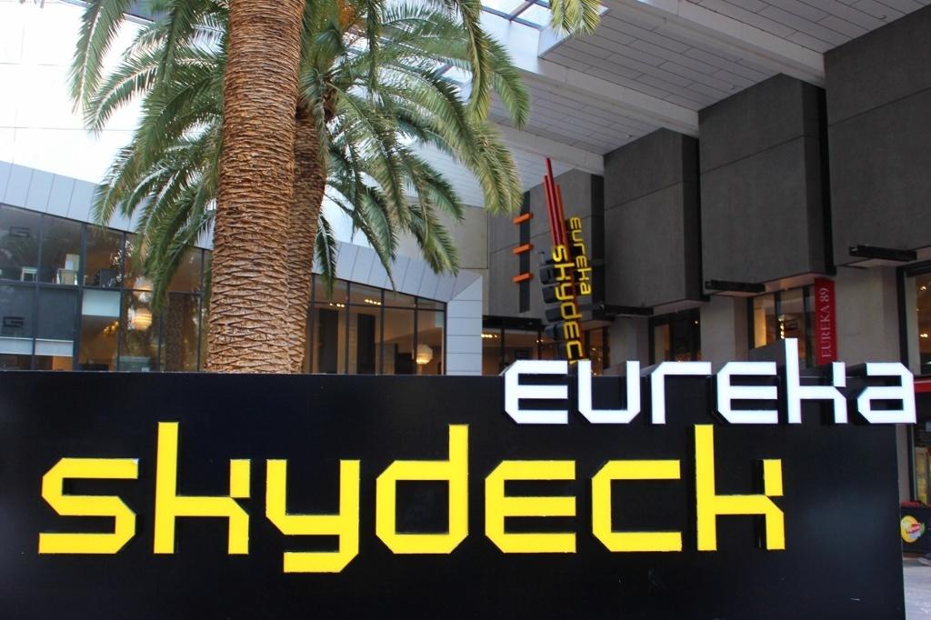 Eureka Skydeck entrance