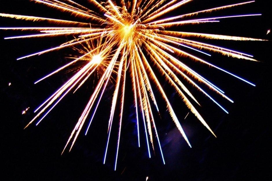 Docklands Winter Festival Fireworks