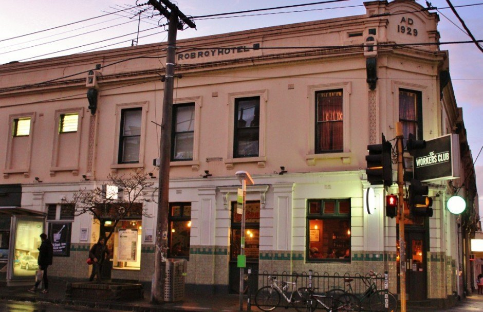 The Workers Club is one of our favorite Fitzroy pubs