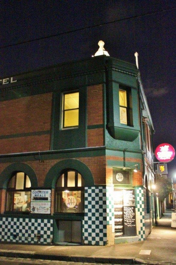 As far as Fitzroy pubs go, The Rainbow Hotel is a mainstay. It's been around almost as long as Fitzroy itself!