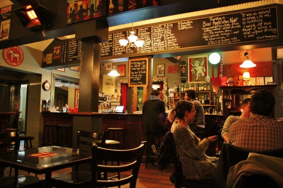With more than 100 beers to choose from, The Raiinbow Hotel ranks as one of our top picks of Fitzroy pubs