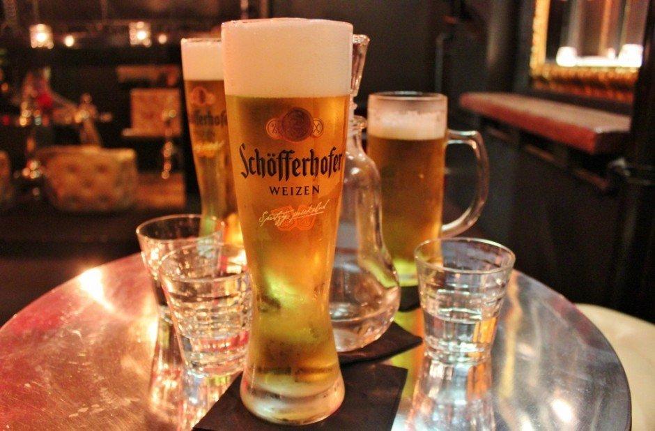 Beers at Berlin Bar in Melbourne Australia