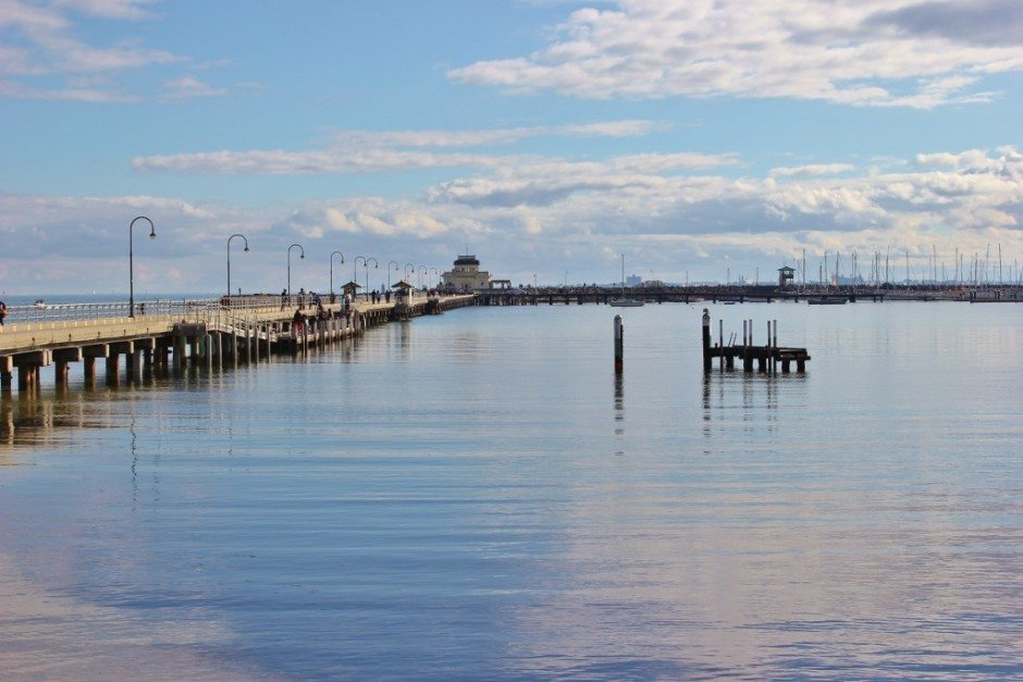 Our Walk from Port Melbourne to St. Kilda took us to the famous St. Kilda Pier