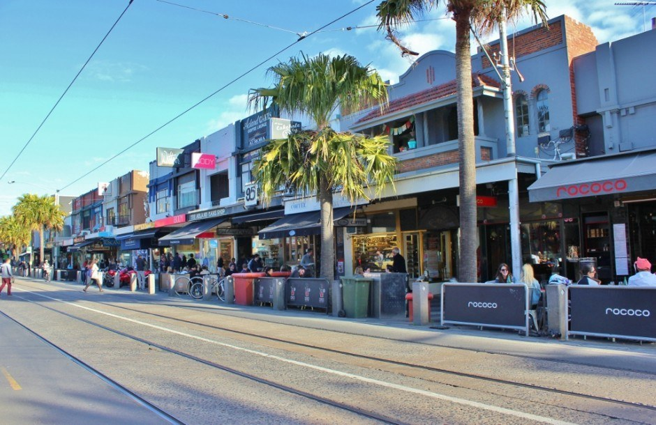 OUr Walk from Port Melbourne to St. Kilda ended on Acland Street in St. Kilda