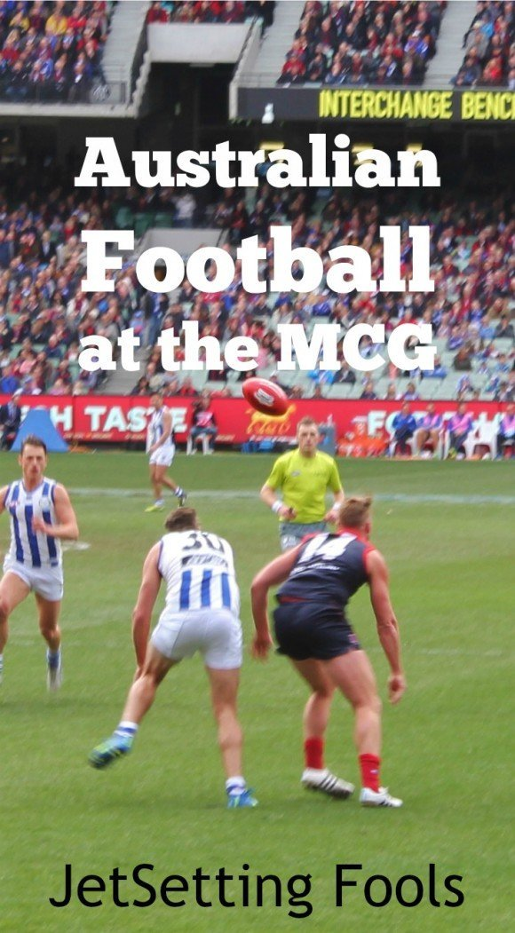 Understanding Australian Football at the MCG JetSetting Fools