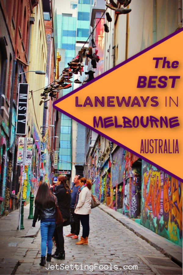 Best Laneways in Melbourne Australia by JetSettingFools.com