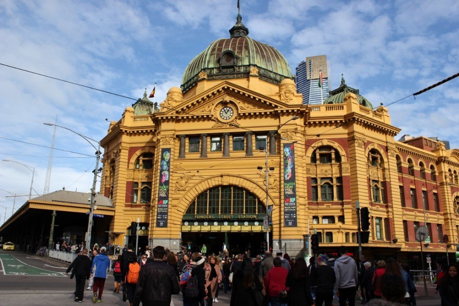 Self-guided walking tour of Melbourne: Stop 14, Flinders Street Station