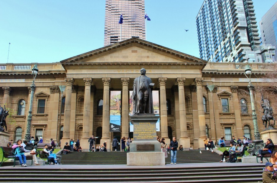 Self-guided walking tour of Melbourne: Stop 2, State Library of Victoria