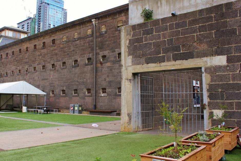 Self-guided walking tour of Melbourne: Stop 3, Old Melbourne Gaol