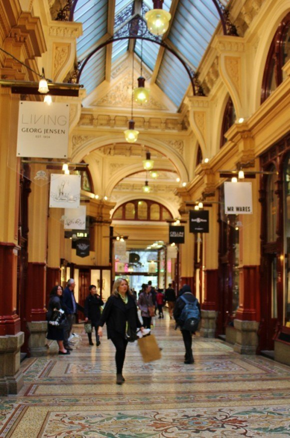 Self-guided walking tour of Melbourne: Stop 9, Block Arcade
