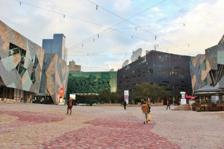 Self-guided walking tour of Melbourne: Stop 13, Federation Square