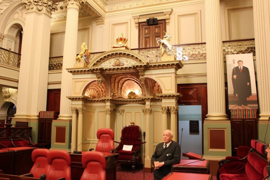 We got a government and history lesson from Tony at the Parliament House, one of the 5 free tours in Melbourne that we took.