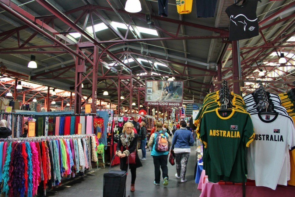 The Queen Victoria Market General Merchandise stalls