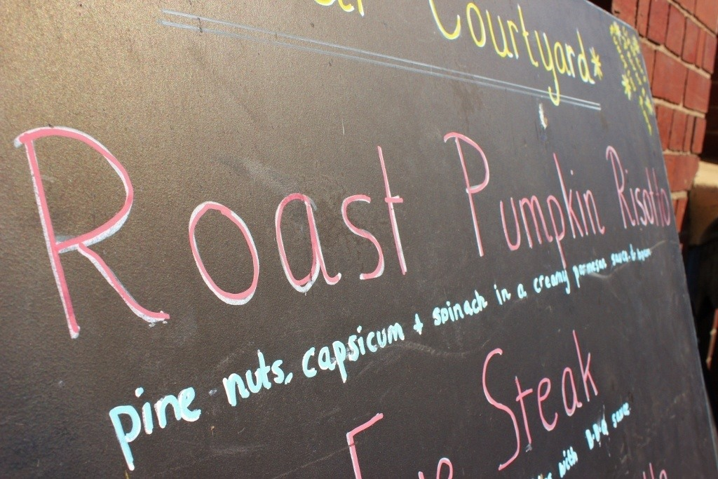 We saw pumpkin dishes on nearly ever restaurant menu in Australia and, at first, didn't understand the pumpkin craze.