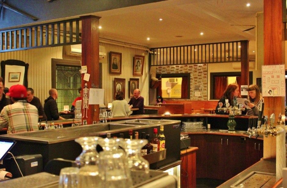 Sydney Road pub crawl in Brunswick: Bar 4; Edingurgh Castle Hotel