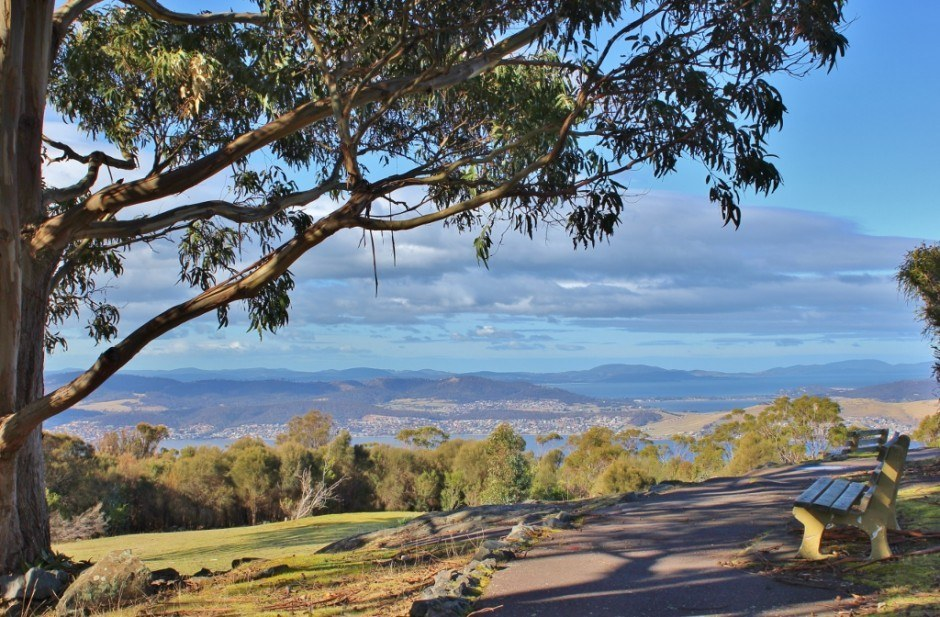 Hobart without a car: Mount Nelson by bus