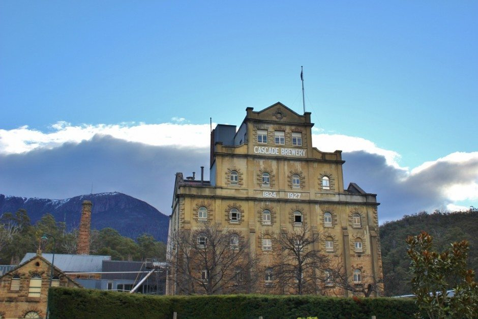 Hobart without a car: Cascade Brewery