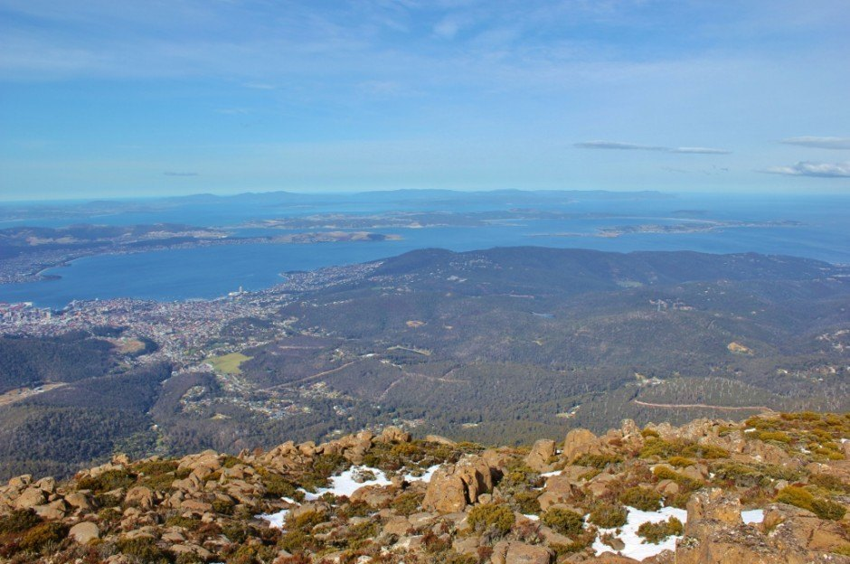 Hobart without a car: Mount Wellington