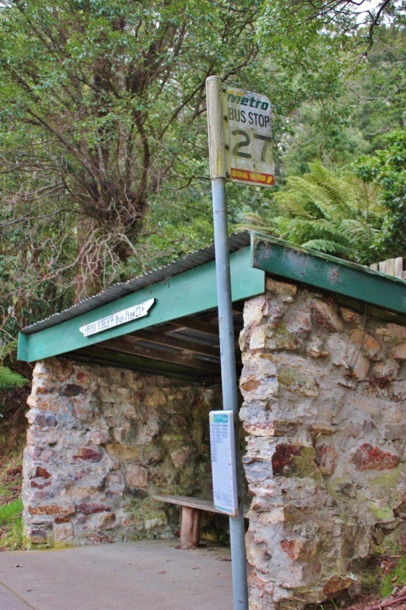 Hobart without a car means finding bus stops
