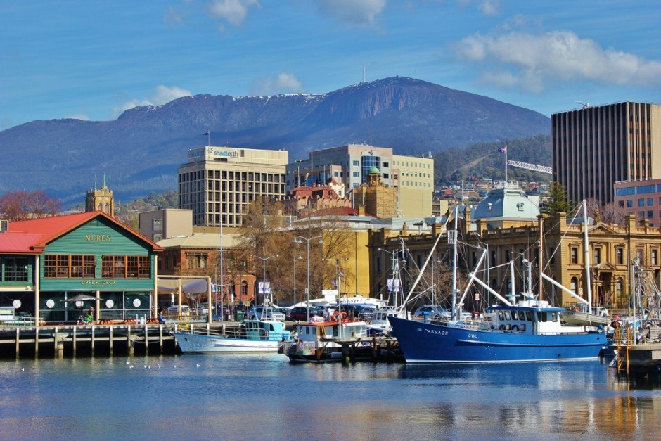 Hobart without a car: Constitution Dock