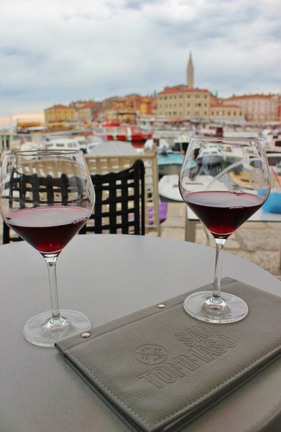 Wine Tasting in Rovinj Croatia at San Tommaso Wine Bar
