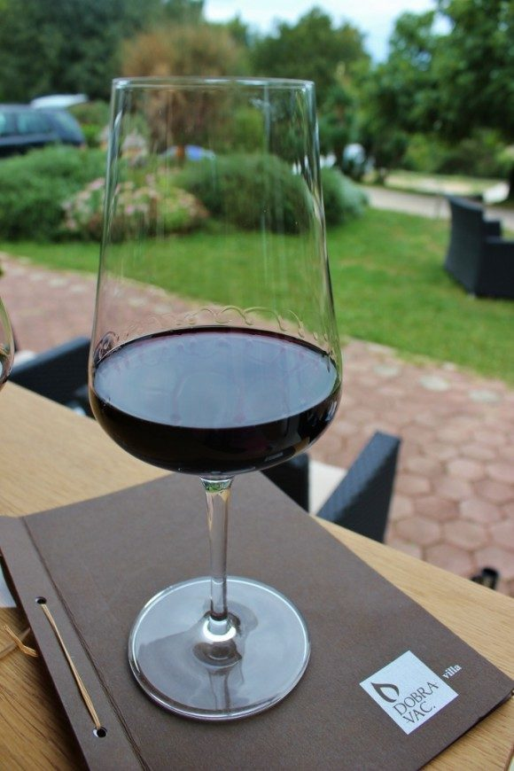 Wine tasting in Rovinj Croatia at Villa Dobravac