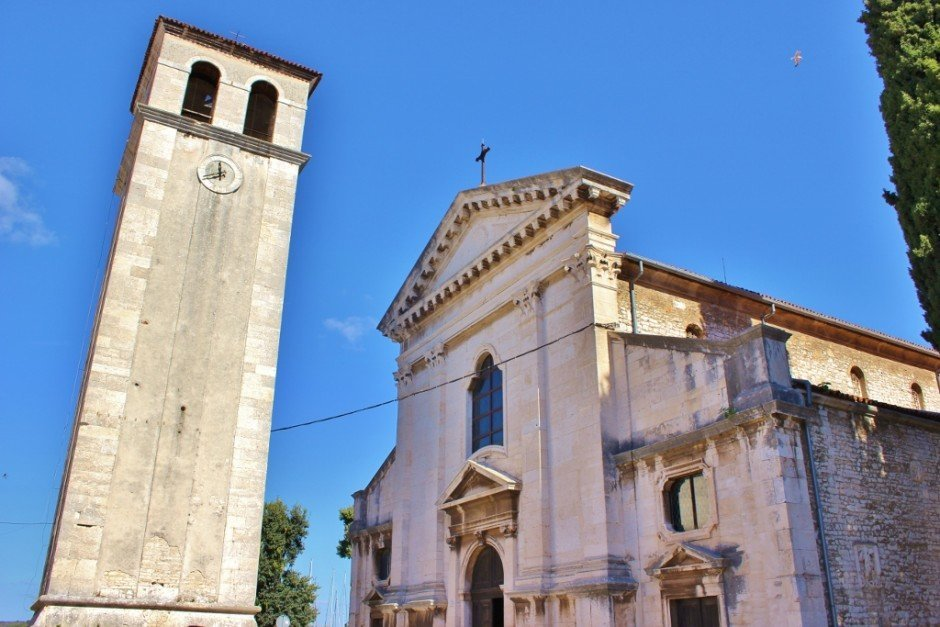 The Cathedral is one of the sights to see with one day in Pula, Croatia
