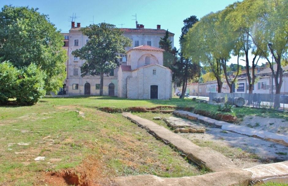 The chapel of St. Maria Formosa in Pula, Croatia