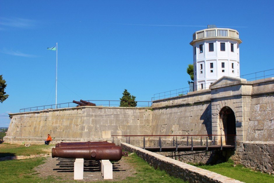 Fort Kastel in Pula, Croatia