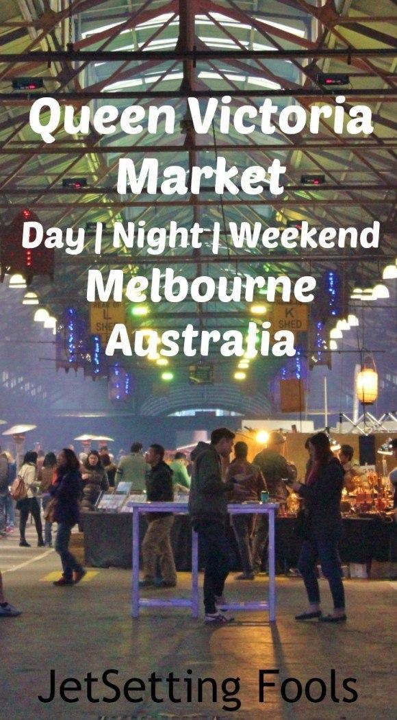 Queen Victoria Market Melbourne Australia JetSetting Fools