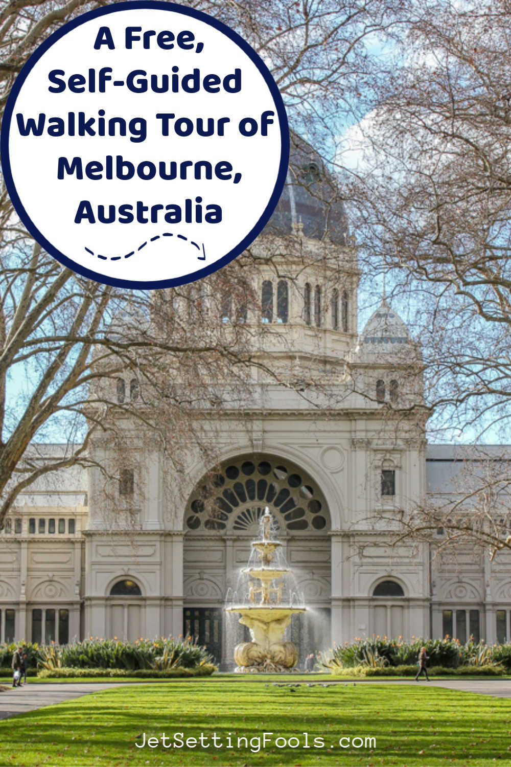 Self-Guided Walking Tour of Melbourne Australia by JetSettingFools.com