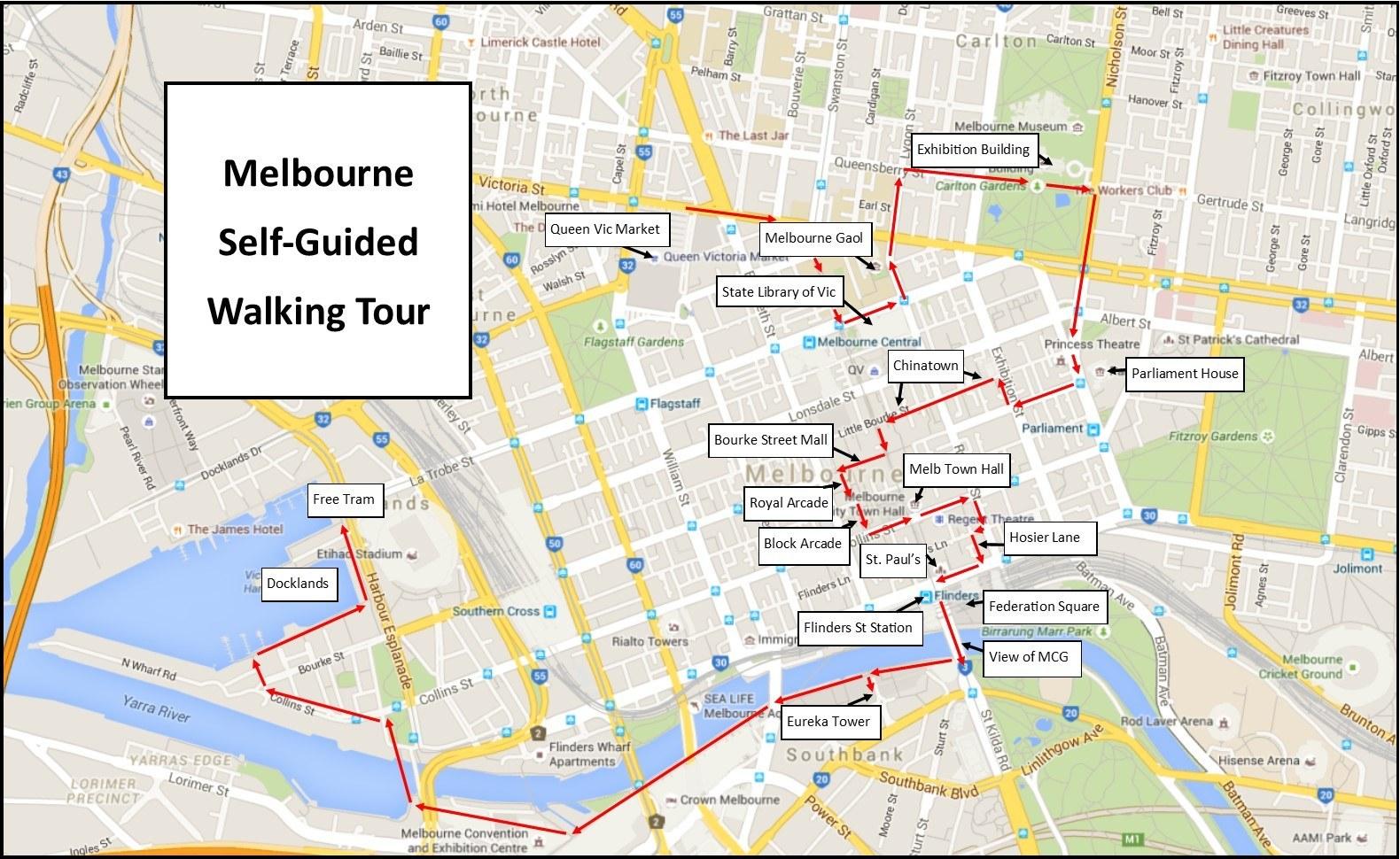 Self Guided Walking Tours Australia
