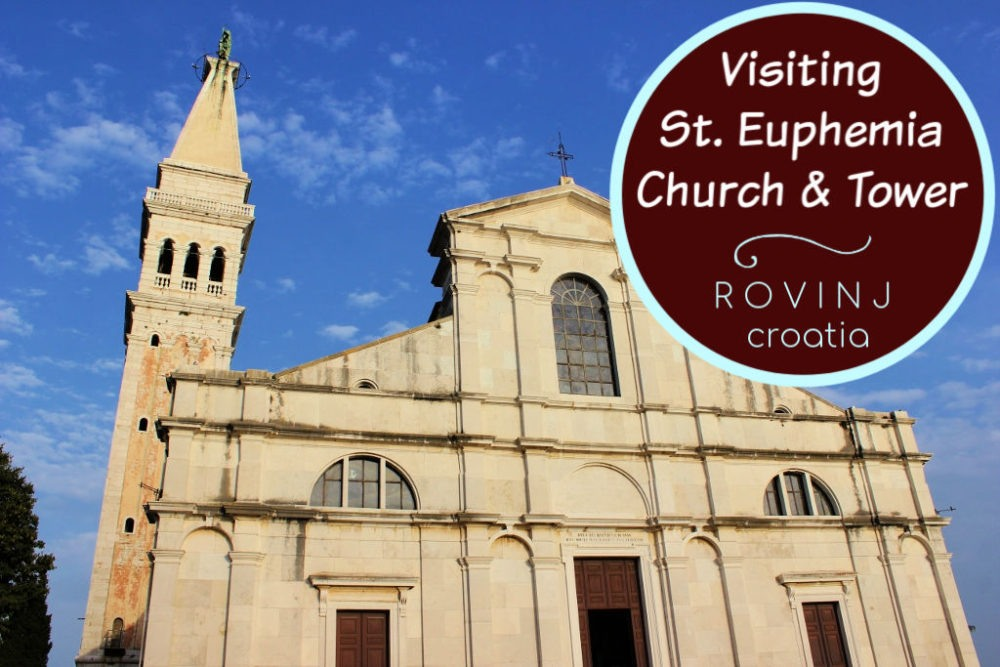 Visiting St. Euphemia Church and Bell Tower in Rovinj, Croatia by JetSettingFools.com